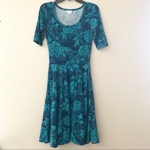 Lularoe Nicole fit and flair dress